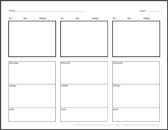Click Here For Your Free Horizontal Storyboard Template