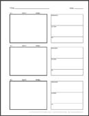 Click Here For Your Free Vertical Storyboard Template