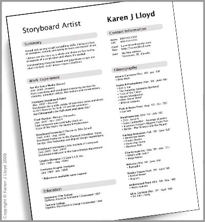 KJL_mock_resume_full  What Do You Put On Resume