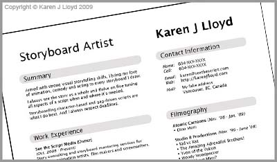 KJL_mock_resume_top. At the top should also be your complete contact  information.